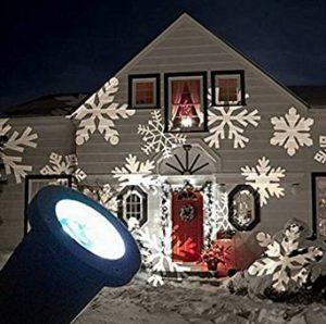 Projektor für Weihnachtsmotive